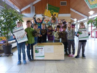 Foto zur Meldung: Schuhsammelaktion der Grundschule Am See in Groß Twülpsteddt