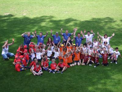 Foto zur Meldung: Mehr als 100 Tore beim 1. Kindergarten-Cup