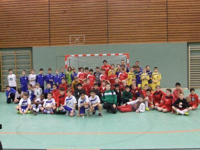 Foto zur Meldung: 130 Nachwuchskicker beim Germanen-Jugend-Cup