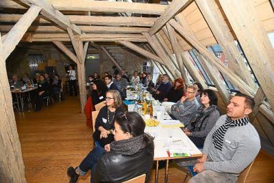 Foto zur Meldung: Generationentreff Lebenswert auf dem Moderationskreistreffen der Mehrgenerationenhäuser