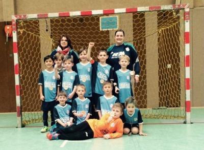 """Foto zu Meldung: F2-Jugend - """"Hallenkreismeister 2015"""""""