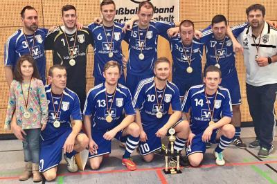 Foto zur Meldung: Brachstedt bestes Futsalteam in Sachsen-Anhalt
