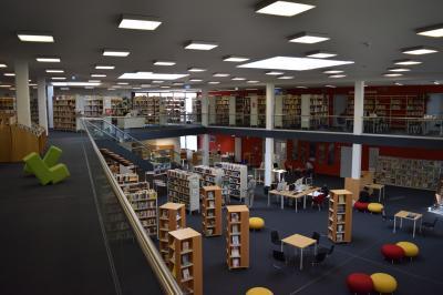 Foto zu Meldung: Stadtbibliothek bleibt beliebter Anlaufpunkt