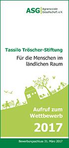 Foto zur Meldung: Aufruf: Tassilo Tröscher Wettbewerb 2017