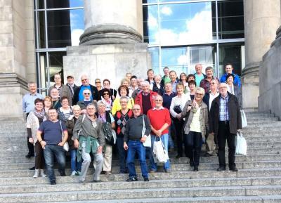 Foto zu Meldung: Berlin Reise auf Einladung des SPD Bundestags Abgeordneten Oliver Kaczmarek
