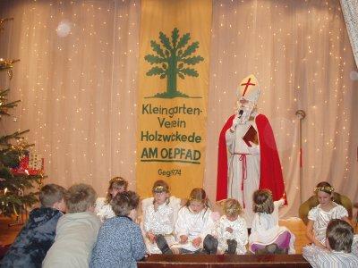 """Foto zu Meldung: Weihnachtsfeier des Klgv. """"Am Oelpfad"""" in der Rausinger Halle"""