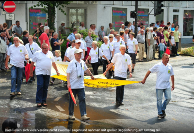 Foto zu Meldung: Teilnahme am Schützenumzug zum 150 jährigen Jubiläum des Bürger Schützenverein Holzwickede