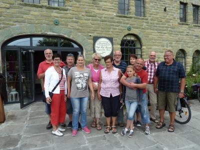 Foto zu Meldung: Am Samstag unternahmen einige Mitglieder eine Radtour zum Cafe Hof Mawick in Werl-Holtum