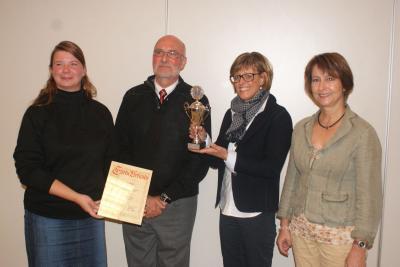 """Foto zu Meldung: Verleihung der """"Roten Azalee"""""""