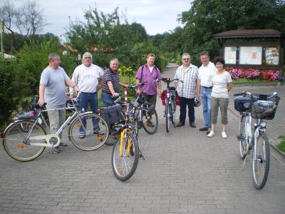 Foto zu Meldung: Fahrrad Tour zum Schloß Nordkirchen