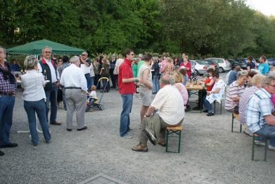 """Foto zu Meldung: Osterfeuer 2011 in der Kleingartenanlage """"Am Oelpfad"""" in Holzwickede"""