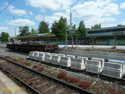 Bahnsteig Gleis 2