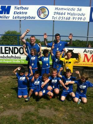 Foto zur Meldung: F2-Jugend - Kreismeister 2013