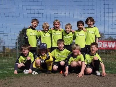 Foto zur Meldung: F2-Junioren - ziehen ungefährdet ins Pokal-Halbfinale ein