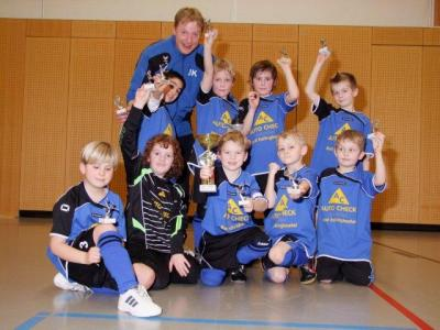 Foto zur Meldung: F2-Junioren - Erfolgreich beim Winter-Cup in Schneverdingen
