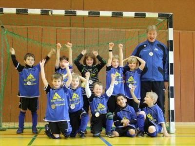 Foto zur Meldung: F2- Jugend gewinnt Hallenkreismeisterschaft 2010/11