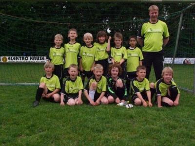 Foto zur Meldung: F2-Junioren - Ungefährdet ins Pokalfinale