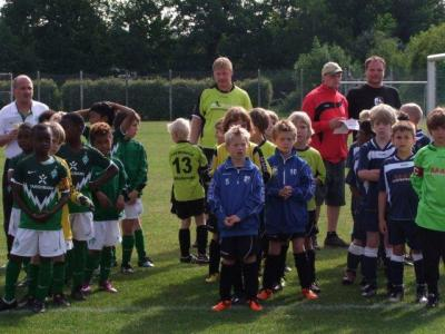 Foto zur Meldung: F2-Junioren - Gegen Werder Bremen
