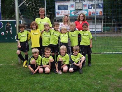 Foto zur Meldung: F2-Junioren - Sichern sich den Vize-Kreismeister