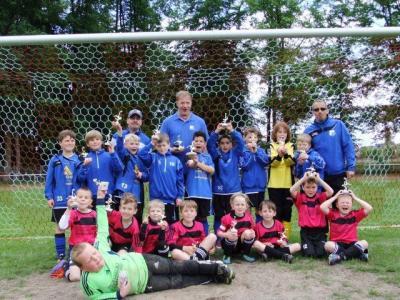 Foto zur Meldung: F-Junioren - Erfolgreich beim Vorbrücker Sportfest