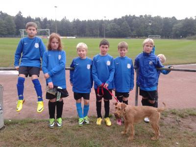 Foto zur Meldung: E1-Junioren - Sechs Kicker beim Sichtungstraining