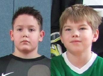 Foto zur Meldung: E1-Jugend - Moritz Kühn und Marcel Müller im Aufgebot der Förderauswahl
