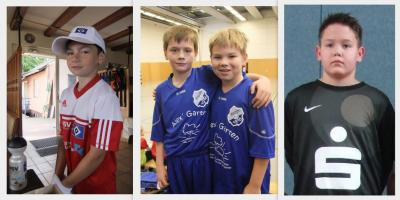 Foto zur Meldung: E1-Junioren - Vier Germanen erhalten Einladung zur Endsichtung