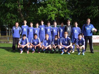 Foto zu Meldung: C-Junioren - Erreichen das Kreispokalfinale