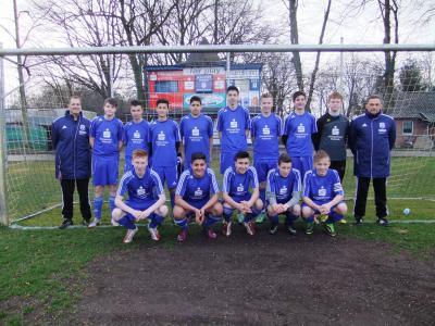 Foto zur Meldung: C-Junioren - Niederlage bei Heimspielpremiere