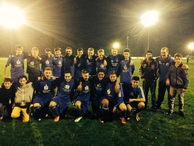 Foto zur Meldung: C-Junioren - Bezirksliga-Aufstieg perfekt