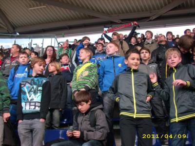 Foto zu Meldung: D-Junioren - Zu Besuch bei H96 gegen Mainz 05