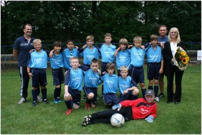 Foto zu Meldung: D-Jugend - Mannschaftsfoto 2011