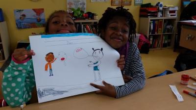 Vorschaubild zur Meldung: Kinderrechte - Klasse 2d