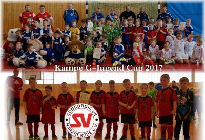 Foto zu Meldung: Kampe G-Jugend Cup 2017