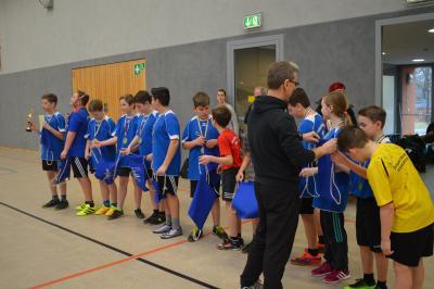 Foto zur Meldung: Kreisfinale im Zweifelderball am 23.02.2017 im Schipkau