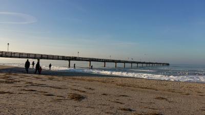 Foto zu Meldung: wunderschöner breiter Sandstrand