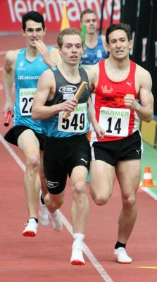 Foto zur Meldung: LAZ-Staffel läuft Vereinsrekord bei Deutscher Meisterschaft