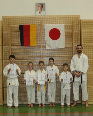 Foto zur Meldung: Bericht zu den Veranstaltungen der Abteilung Karate am 25. Februar 2017