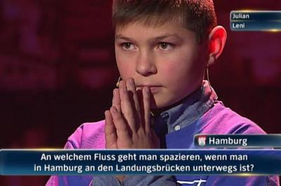 Julian Daniel Eska im Finale der NDR Quizshow
