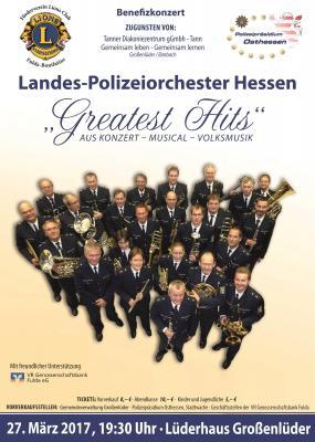 Benefizkonzert Landespolizeiorchester Hessen in Großenlüder