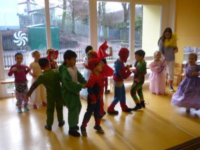 Vorschaubild zur Meldung: Faschingstage im Kindergarten Hegelstraße