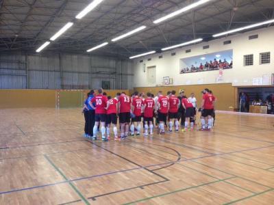 Foto zur Meldung: 1. PSU-Herren gewinnen erstes Relegationsspiel