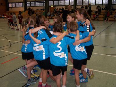 Foto zur Meldung: Handball-Nachwuchs:  E-Jugendmannschaften mit 3 Siegen im ersten Punktspielturnier