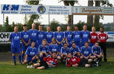 Foto zur Meldung: II. Herren - Mannschaftsfoto 2008