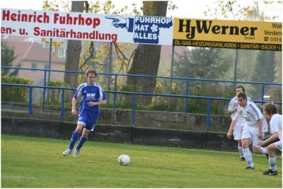Foto zur Meldung: II. Herren - Germania II souverän ins 1/4 Finale