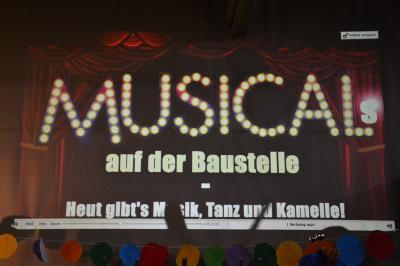 """Foto zur Meldung: Karneval 2017 in der TAS: """"Musicals auf der Baustelle – Heut gibt`s Musik, Tanz und Kamelle"""""""
