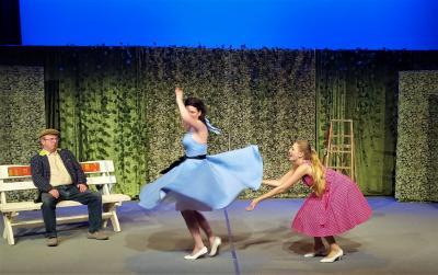 Foto zur Meldung: Rollende Röcke im Theater Zielitz