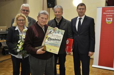 """Foto zur Meldung: Auszeichnung zum """"Ehrenbeirat 2016"""" im Naturschutz"""