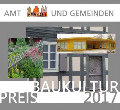 Vorschaubild zur Meldung: Baukulturpreis im Amt Gransee und Gemeinden