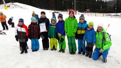 Vorschaubild zur Meldung: Grundschulwettbewerb Skispringen